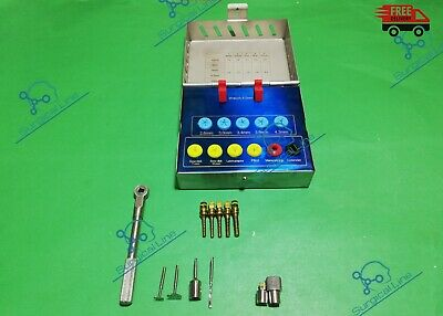Dental Implant Bone Expander Sinus Lift Kit with Saw Disks,Wrench Free Shipping