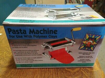 AMACO Craft Pasta Machine for Polymer Clay Soft Metal