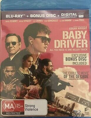 Baby Driver - Blu-Ray - New Sealed Region Free Import** Free Post**
