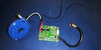 PMT B14A Diheptal Socket w/pre-wired preamp & BNC end 4Pin Photomultiplier tube