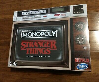 Monopoly Stranger Things Collectors Edition Board Game **IN HAND** Free Shipping