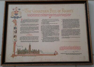 Canadian Bill of Rights Diefenbaker