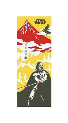 STAR WARS TENUGUI Japanese Cotton Fabric Hand Towel MADE IN JAPAN 34X90cm T31