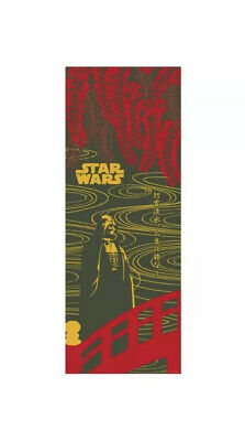STAR WARS TENUGUI Japanese Cotton Fabric Hand Towel MADE IN JAPAN 90✕34cm T9