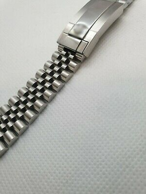 20mm high quality stainless steel bracelet fits to rolex gmt master 2 watches