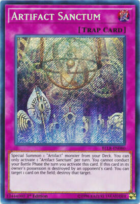 Artifact Sanctum BLLR-EN080 1st Edition Secret Rare
