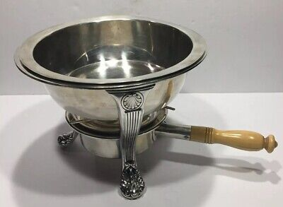 GREAT GORHAM SILVER Plate CHAFING DISH PAN SERVING TRAY PARTY BUFFET SET
