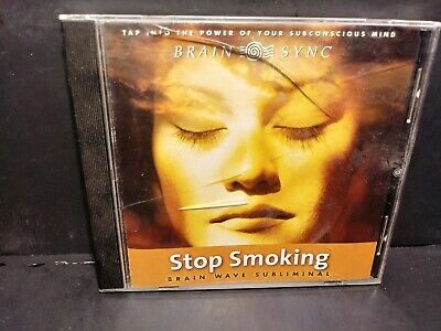 Stop Smoking Brain Wave Subliminal CD LOC # B102/B225