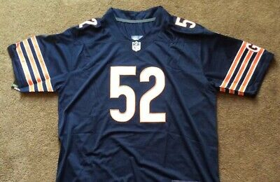 Chicago Bears Khalil Mack #52 Size Mens Large Jersey