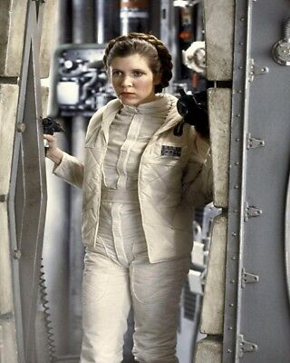 8x10 Carrie Fisher GLOSSY PHOTO photograph picture princess leia star wars #1