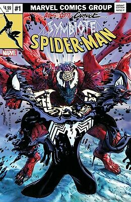 🔥 Absolute Carnage Symbiote Spider-Man #1 Mike Mayhew 2019 NYCC Exclusive Var!