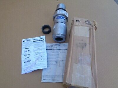 EATON CROUSE HINDS APJ10377 HAZARDOUS LOCATION 100 AMP PIN & SLEEVE  Plug