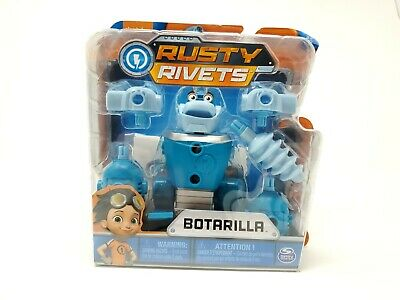 Rusty Rivets, Botarilla Building Kit with Collectible Rusty Figure, for Ages 3 a
