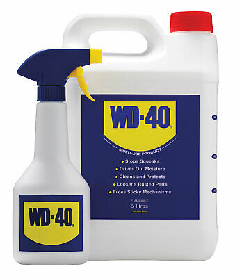 WD40 WD-40 5L with Applicator NEW