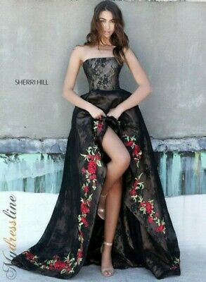 Sherri Hill 51252 Long Evening Dress ~LOWEST PRICE GUARANTEE~ NEW Authentic Gown