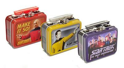 Star Trek The Next Generation Teeny Tin Lunch Box, Set of 3 Random Designs