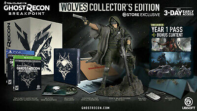 Tom Clancy's Ghost Recon Breakpoint - Wolves Collector's Edition PS4