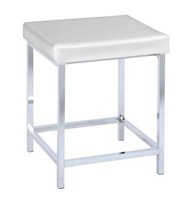 Chair DELUXE SQUARE WHITE, universal stool, WENKO