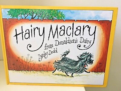 Hairy Maclary from Donaldson's Diary Lynley Dodd  Picture HC Book  FREE POST