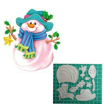 2019 Snowman Metal cutting die For Christmas Scrapbooking paper card craft photo