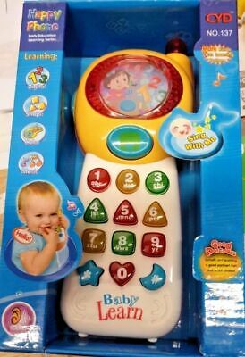 Baby Musical Mobile Phone for Babies Sound Hearing Educate Learning Toy UK