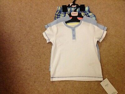 Marks And Spencer Boys Pyjama Set X 2 Age 18- 24 Months Years Bnwt