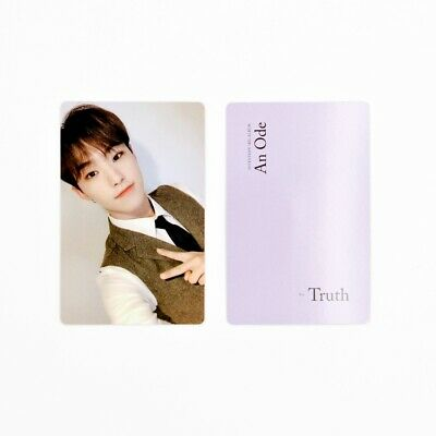 [SEVENTEEN] An Ode 독:Fear Official Photocard / Truth Ver. A-2. Hoshi