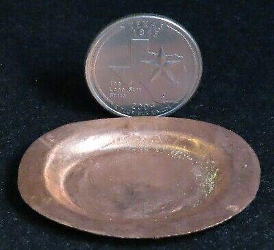 Copper Cup seems large for 1:12 Dollhouse Miniature Mexican Import Kitchen MC702