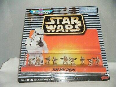 Star Wars Micro Machines ECHO BASE TROOPS Galoob 1996