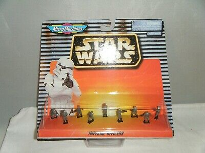 Star Wars Micro Machines IMERPIAL OFFICERS Galoob 1996