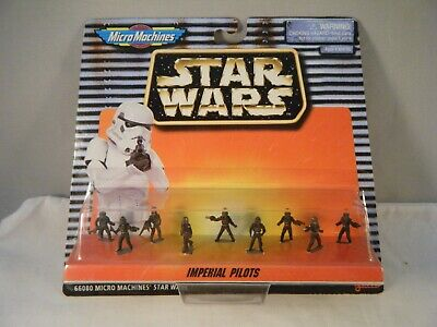Star Wars Micro Machines IMPERIAL PILOTS Galoob 1996