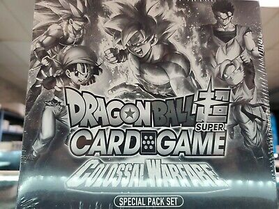 Dragon Ball Super Card Game Colossal Warfare SP04 Special Pack Bandai English
