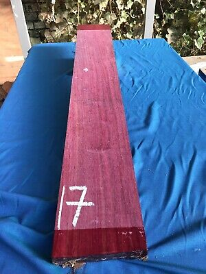 Purpleheart 25-30mm Lumber/Boards - /Exotic Wood/Exotic Hardwoods