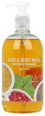 Hair-& Bodywash Patchouli Fragrance 500ml im Pumpspender 2x500ml-