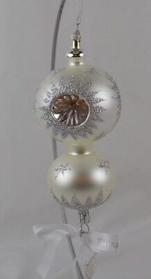 Waterford Star Cut Double Reflector Ornament Holiday Heirlooms