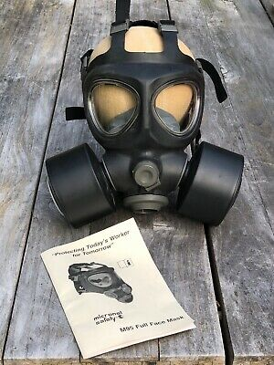 MICRONEL Safety M95 Negative Pressure Full Facemask C3