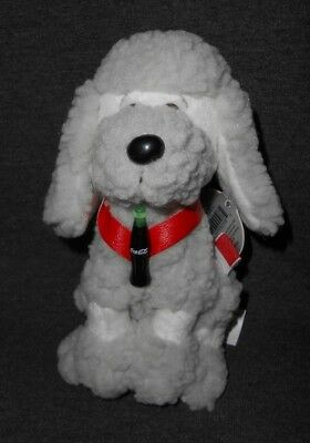 Coca-Cola Coke International Strudel the Poodle France Plush 0214