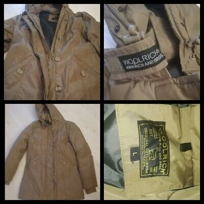 WOOLRICH DOWN JACKET Cappotto Giubbotto Giubbino Coat Giacca Tg L Donna Woman C