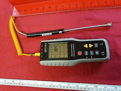 Perfect Prime TC41, 4-Channel K-Type Digital Thermometer Thermocouple