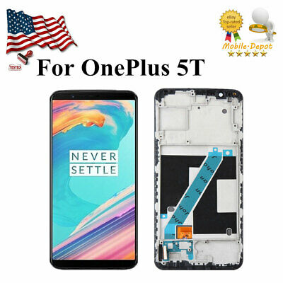For OnePlus 5T A5010 LCD Screen Replacement Display Touch Digitizer Glass