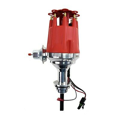 Pro Series R2R Distributor for Mopar Dodge Chrysler, V8 Engine Red Cap