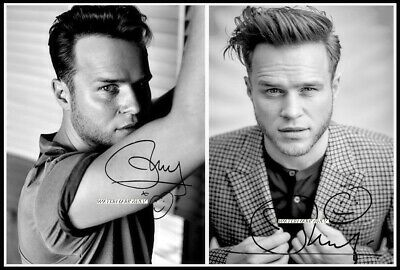 "Olly Murs /""Oh My Goodness/"" Cover Art Canvas Art Print #010080"