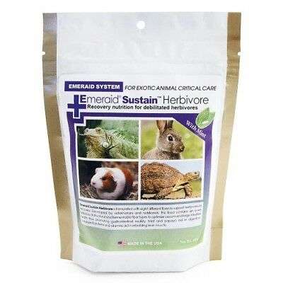 "Emeraid Herbivore ""Sustain"" Critical Care Formula 100G - Rabbit/Tortoise/Reptile"