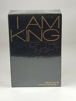 I Am King Of The Night By Sean John For Men 3.4 Oz 100 Ml Edt New In Box Sealed