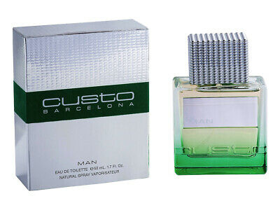 Custo Barcelona Pour Homme Eau Toilette  For Man - 50 Ml - Vaporizador Spray