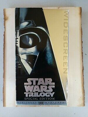 Star Wars Trilogy (VHS, Special Edition - Platinum Widescreen Edition)