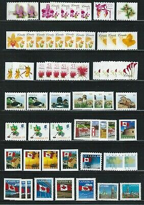 Uncancelled CANADA 60 stamps LOT of 36¢ to $1,80 / FACE VALUE$$ ($47,80)