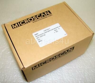 Microscan MS-3 FIS-0003-0225G Compact Laser Barcode Scanner New