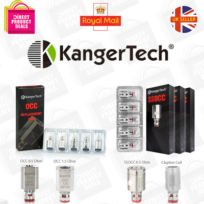 KANGERTECH COILS OCC 0.5ohm 1.5ohm | SSOCC | Clapton Genuine Kanger Replacement