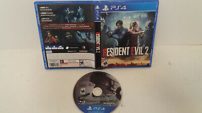 Resident Evil 2 Standard Edition (Sony PlayStation 4 PS4, 2019) Capcom.